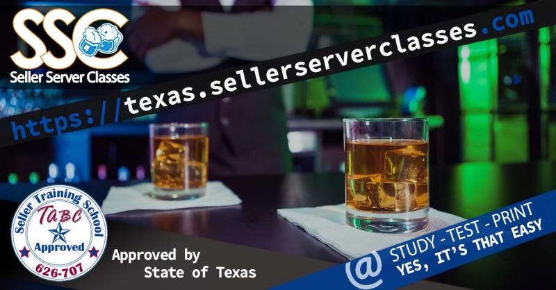 Tabc Certification Online Alcohol Seller Server Classes Texas